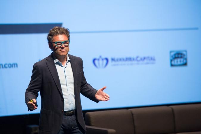 Un momento de la intervención de Marc Vidal  en la segunda jornada de Innovaction Week.