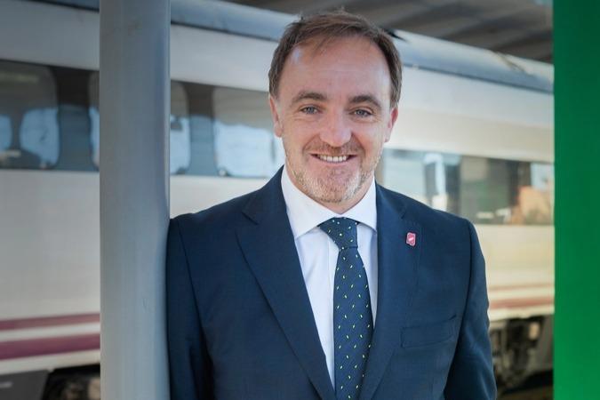 Javier Esparza, candidato por Navarra Suma a la presidencia del Gobierno de Navarra. (Fotos: Estudio Pujol)