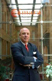 Javier Taberna, presidente de la Cámara Navarra.