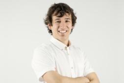 Javier Vidorreta,  presidente de los jóvenes empresarios de Navarra.