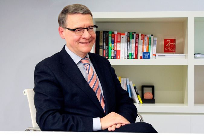 Imagen del exministro y próximo invitado a los 'Desayunos Empresariales' de navarracapital.es, Jordi Sevilla.