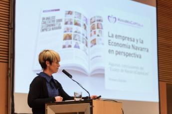 Presentación de la primera edición de El Espejo, en la jornada Next.