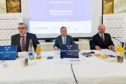 Mesa Presidencial de los 'Desayunos Empresariales' de navarracapital.es