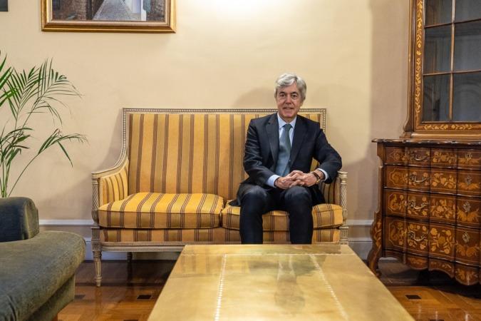 Juan Carlos Ureta, presidente de Renta 4 Banco. (Foto: Víctor Rodrigo)