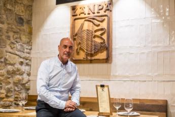 Juanchi Patús, presidente de la Asociación Navarra de Agencias de Viajes.