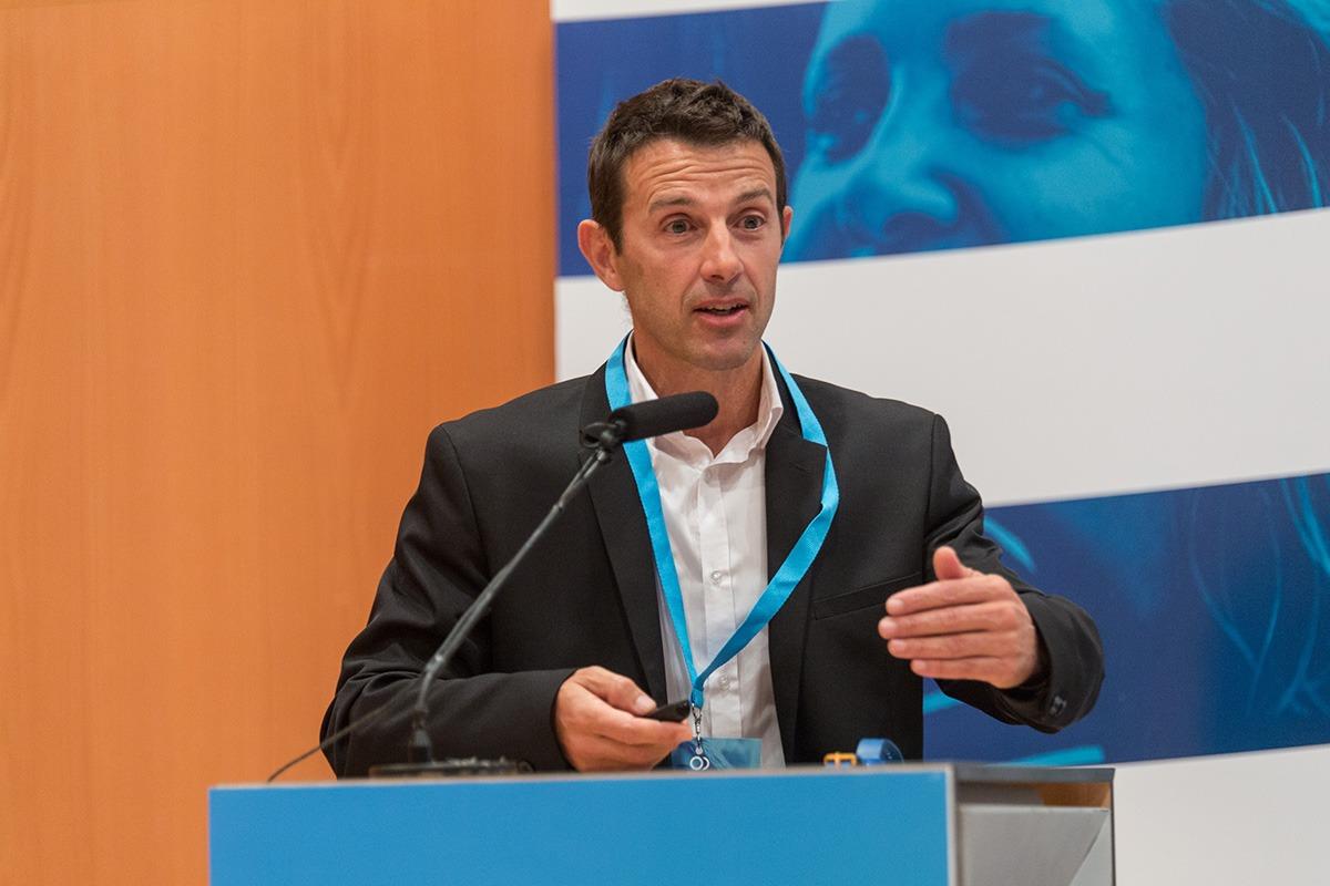 El director de la Unidad de Innovación Social en ADItech, durante el I Fórum Fundaciones.