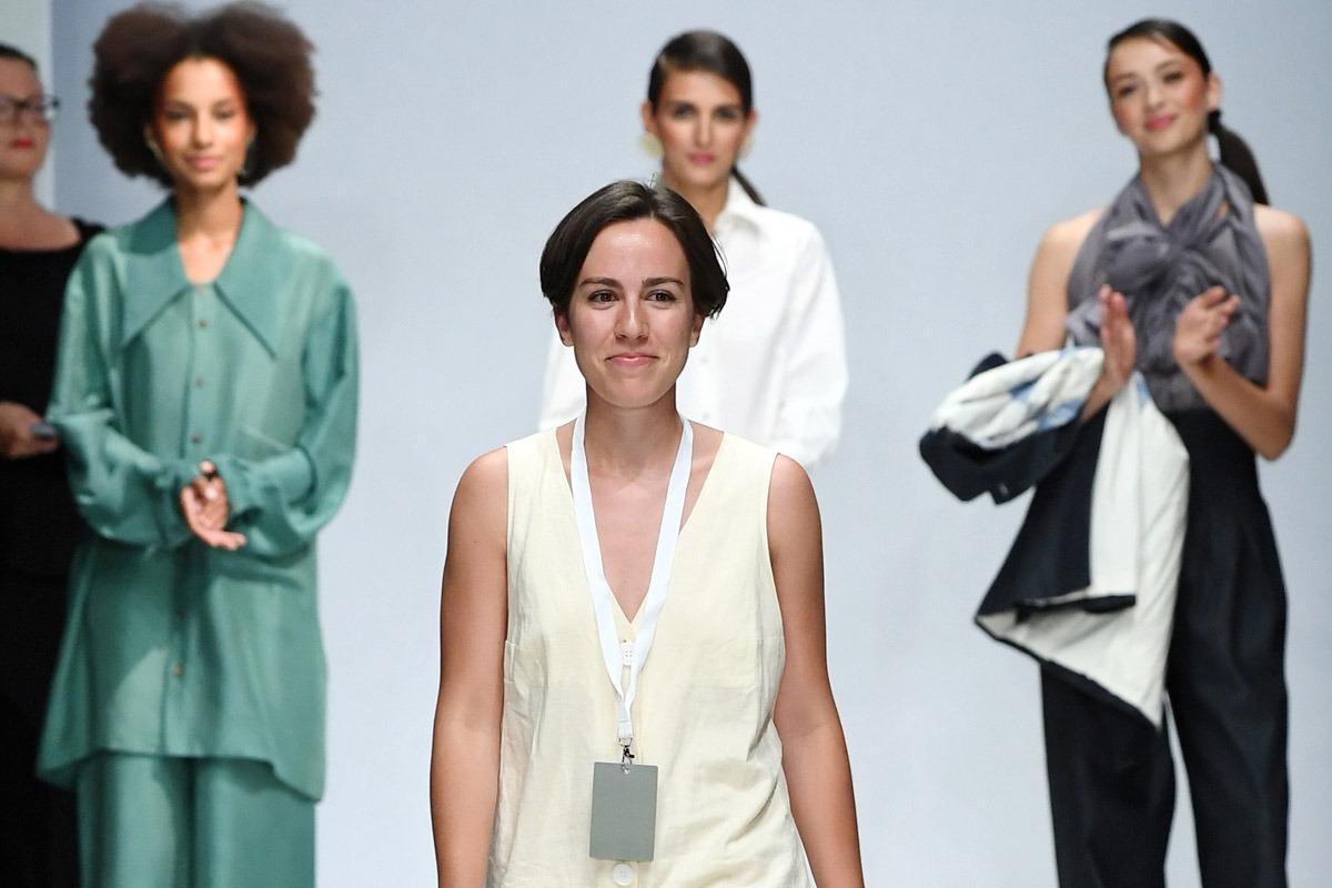 La diseñadora navarra Julia Velázquez recibió el premio del público en la RebelPin Berlín 2018.