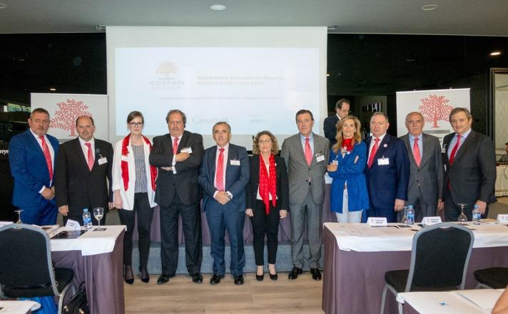 Imagen de la Junta Directiva de ADEFAN. Foto: Víctor Rodrígo