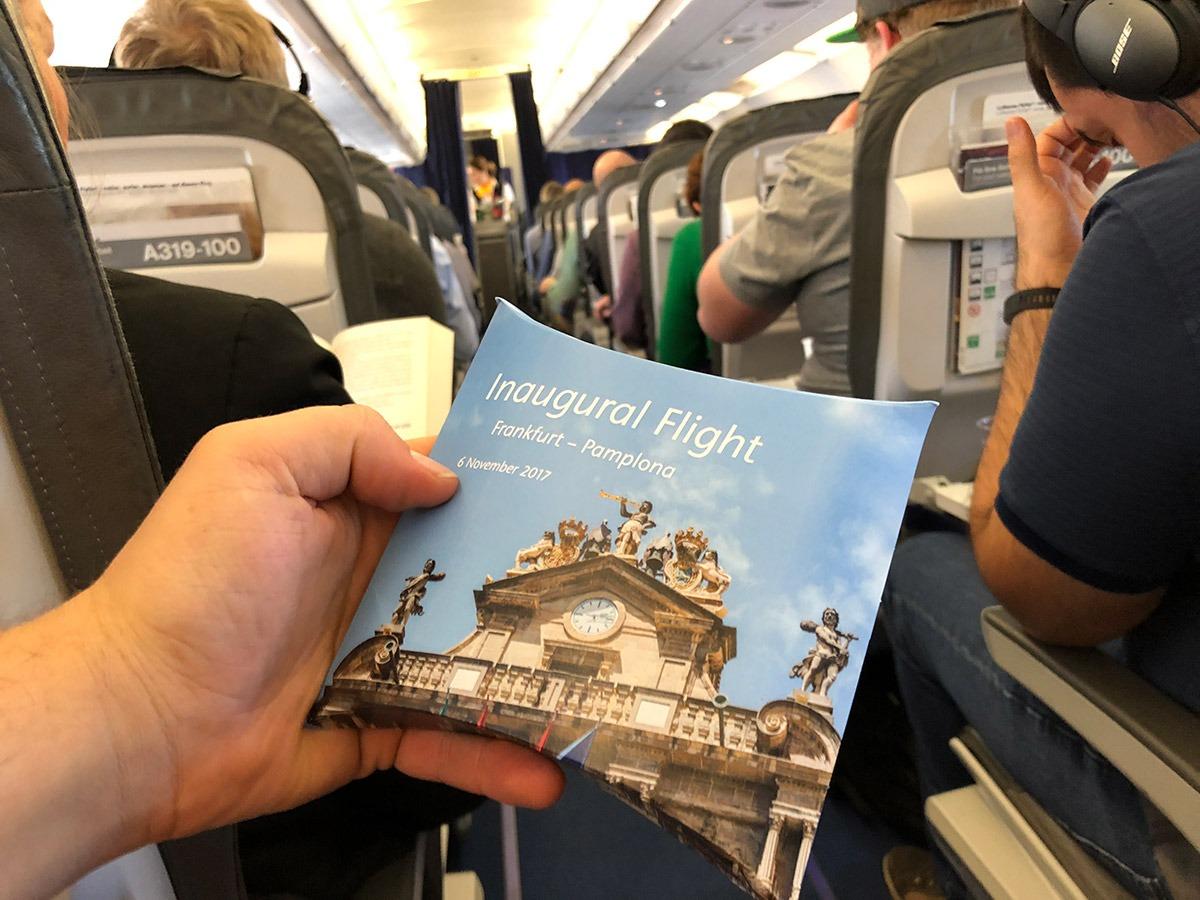 Detalle para los pasajeros.