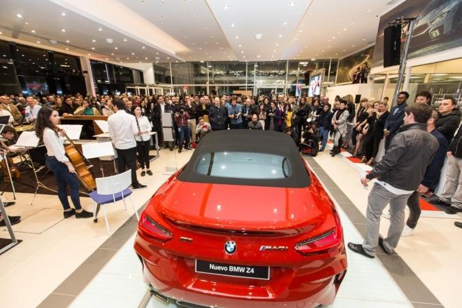 En la inauguración de Lurauto Navarra se presentaron los últimos modelos BMW.