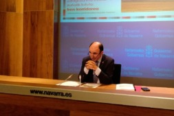 Manu Ayerdi durante una de sus últimas comparecencias públicas. (FOTO: archivo)