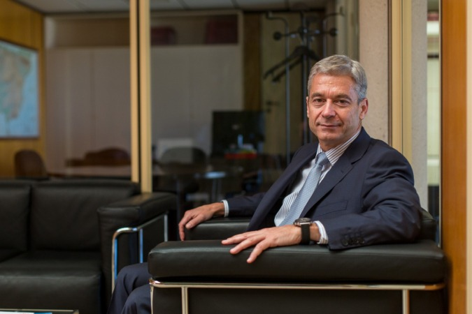 Mario Buisan, director general de Industria y de la Pequeña y Mediana Empresa del Ministerio de Economía. Fotografía: Víctor Rodrigo