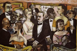'Sociedad. Paris' (1931) de Beckmann. Del Solomon Guggenheim Museum, Nueva York.