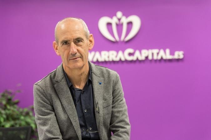 Miguel Bidegain, nuevo director de 'NavarraCapital.es'. (FOTO: Víctor Rodrígo).