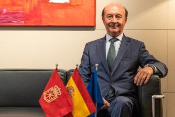 Iraburu analizó la actual situación económica de España y Navarra.