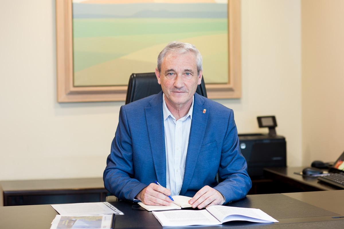 Mikel Aranburu, consejero de Hacienda y Política Tributaria del Gobierno de Navarra. (FOTO: Ana Osés)