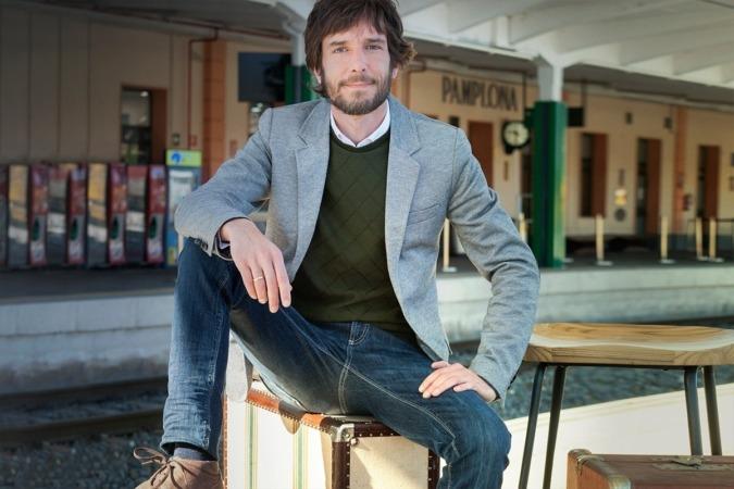 Mikel Buil, candidato de Podemos Navarra a presidir el Gobierno de Navarra. (Fotos: Estudio Pujol)