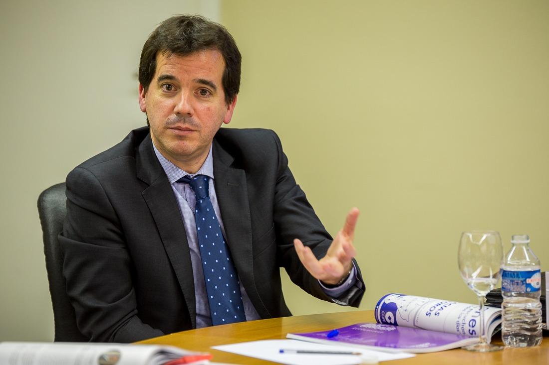 Mikel Irujo, delegado del Gobierno de Navarra en Bruselas. Foto: Victor Rodrigo