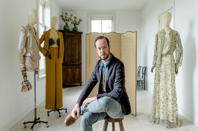 Jan Taminiau diseñó el vestido que lució la reina Máxima Zorreguieta el día de la coronación de su marido.