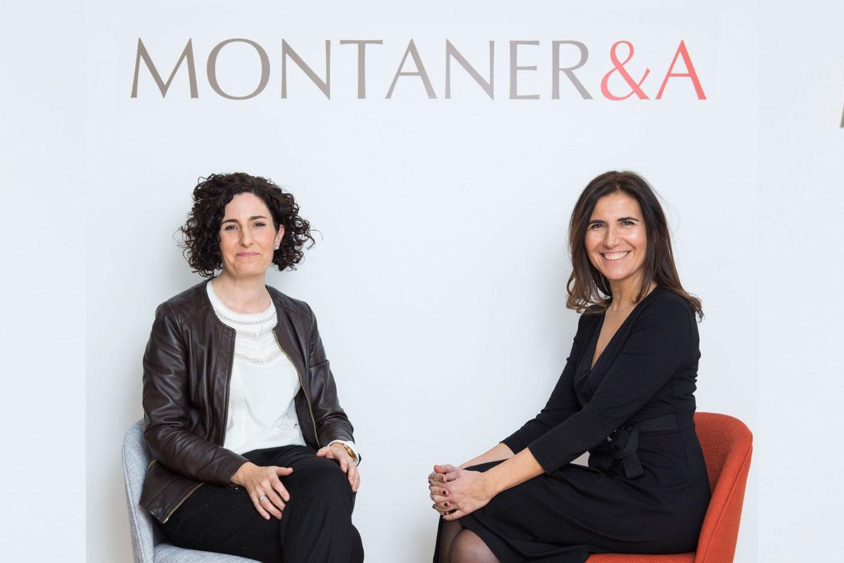Nora Reta y Genoveva Capdet, responsables de Montaner & Asociados en Navarra.