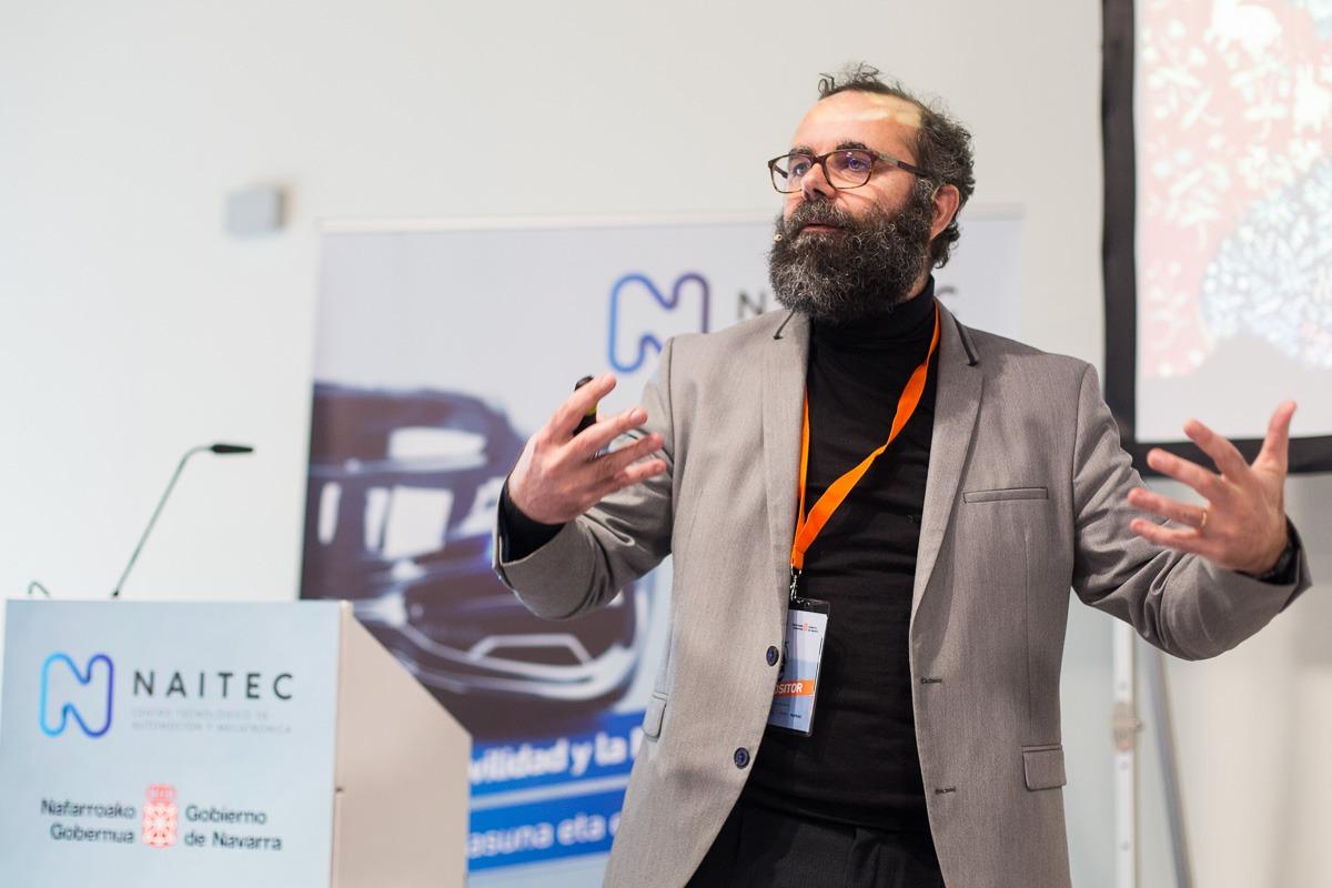 Fernando Varela, doctor en Física e Ingeniería y responsable de área de Naitec.