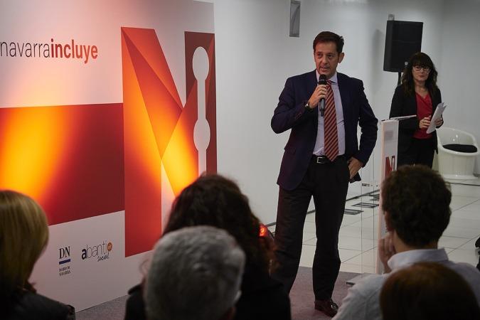 Pablo Frauca, de Diario de Navarra, explicó el espíritu con el que nace el proyecto.