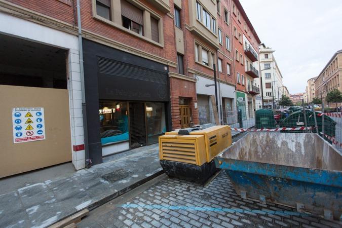 El nuevo Supermercado de la Calle Tafalla número 23-25 se abrirá a finales de este año.