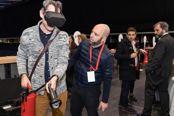Tesicnor aplica la realidad virtual para mejorar la respuesta ante una emergencia de incendios.