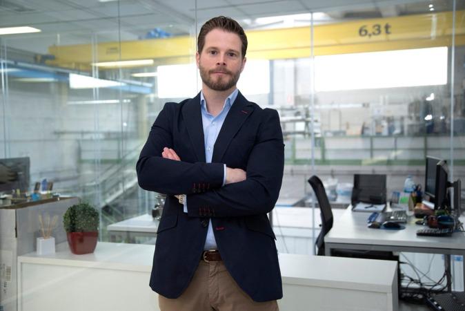 Pedro Odériz, gerente de Gurpea Industrial. (FOTO: David Muñiz)