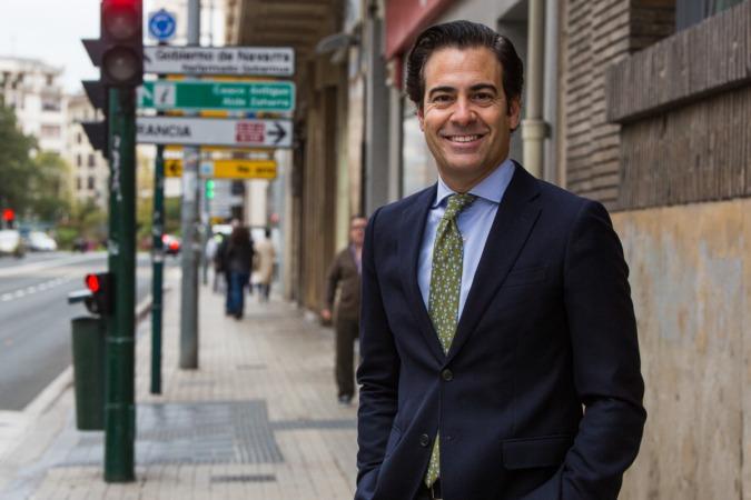 El navarro Pablo Zalba suena como posible sustituto de Luis De Guindos, según elindependiente.com. (FOTOS: Víctor Rodrígo).