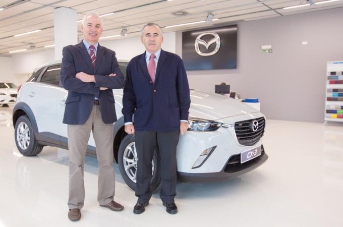 """'Mazda', última marca en incorporarse a la """"gran familia"""" de Grupo Unsain"""