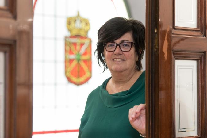 La directora general de Sodena, Pilar Irigoien. (FOTOS: Víctor Rodrígo).