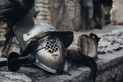 El yacimiento arqueológico de Pompeya  reabre la Escuela de los gladiadores, en proceso de restauración