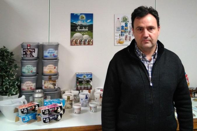 Juan Manuel Blázquez, nuevo gerente de Postres Ultzama