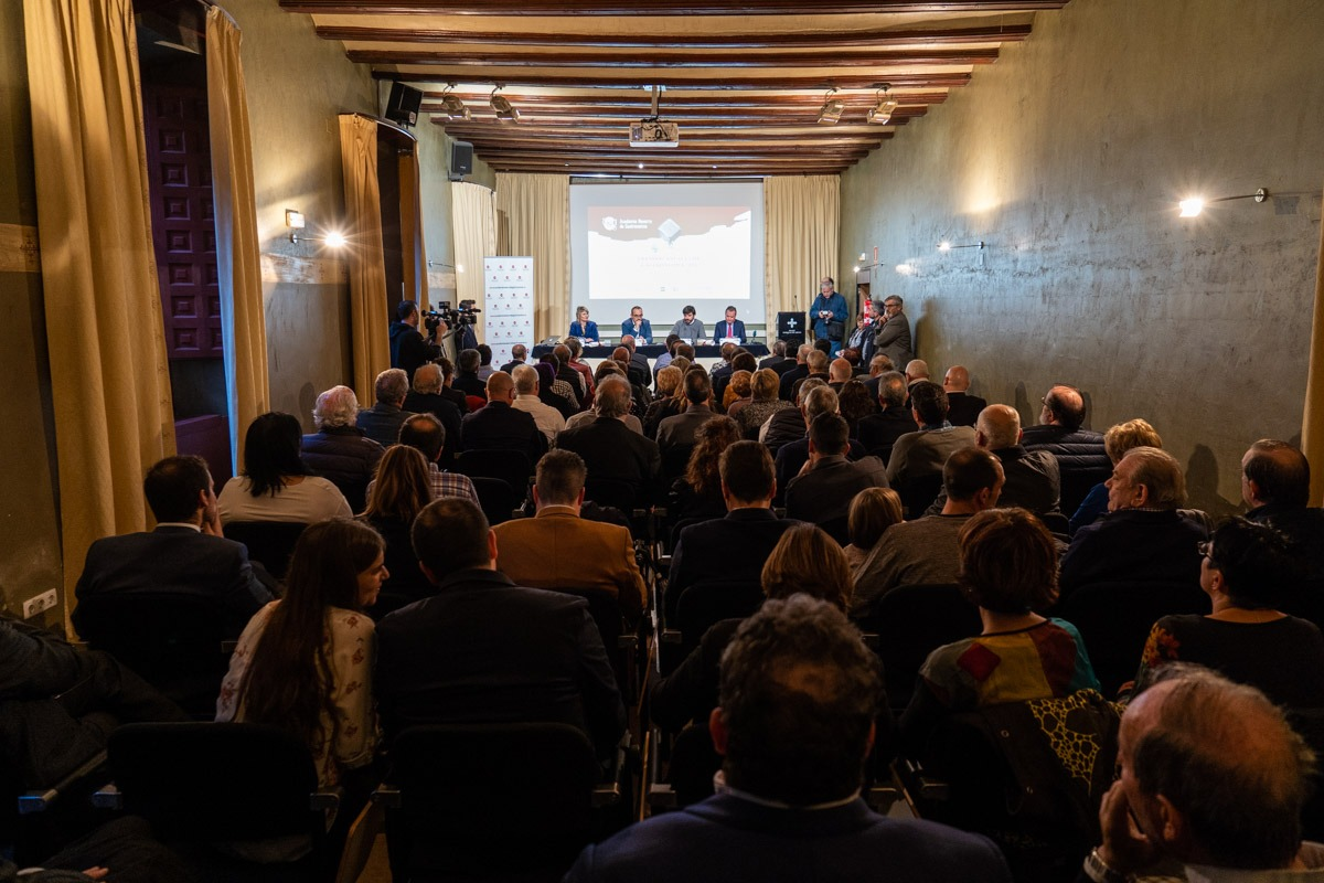 El acto de entrega de premios de la pasada edición se celebró en Tudela.