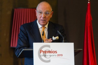 Javier Taberna, presidente de la Cámara de Comercio.