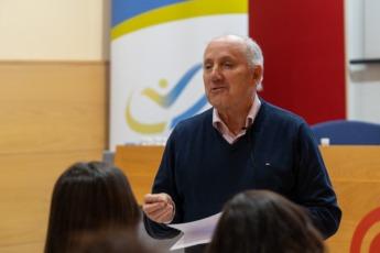 Emilio Garrido durante su intervención.