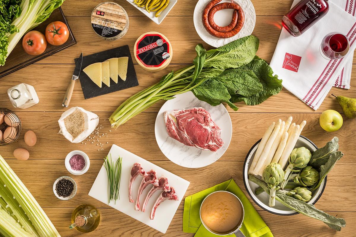 Varios productos Reyno Gourmet.