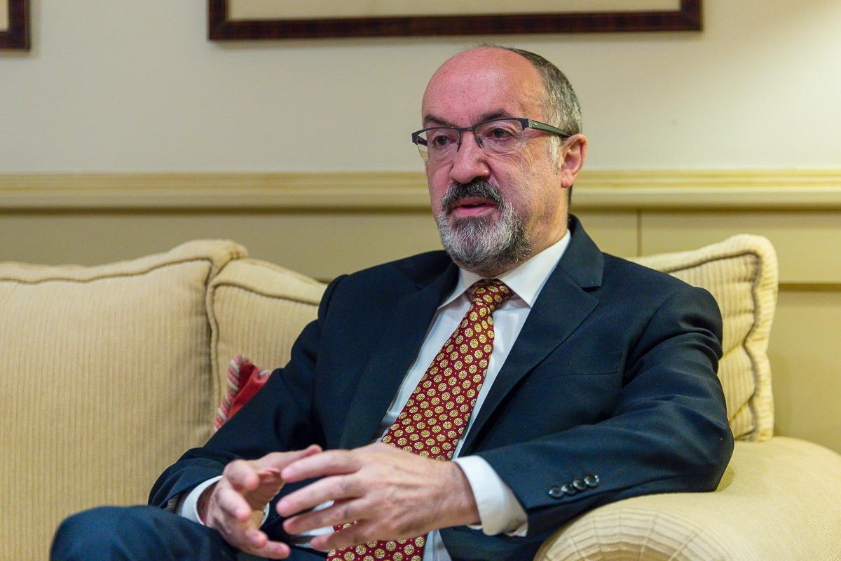 Imagen de Sixto Jiménez durante la entrevista realizada por NavaraCapital.es
