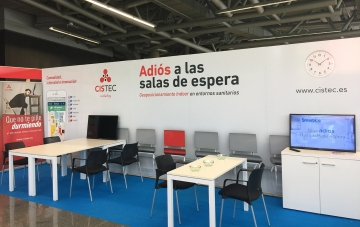 Stand de CISTEC technology en Innobasque
