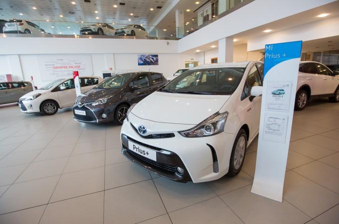 Toyota España cierra 2016 con más de 64.000 unidades vendidas