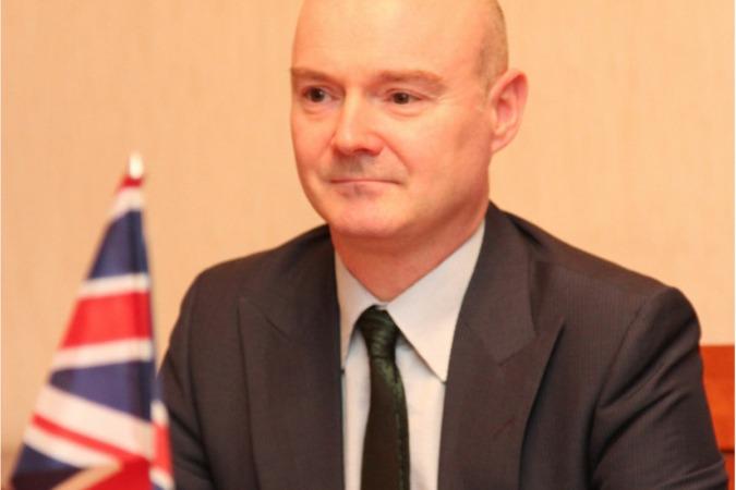 Tim Hemmings, ministro consejero de la Embajada Británica en España