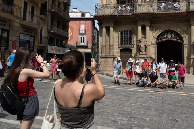 Muchos turistas visitan Pamplona para pequeñas escapadas de entre tres y cinco días.