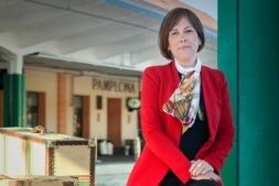 Uxue Barkos, candidata de Geroa Bai a seguir presidiendo el Gobierno de Navarra. (Fotos: Estudio Pujol)