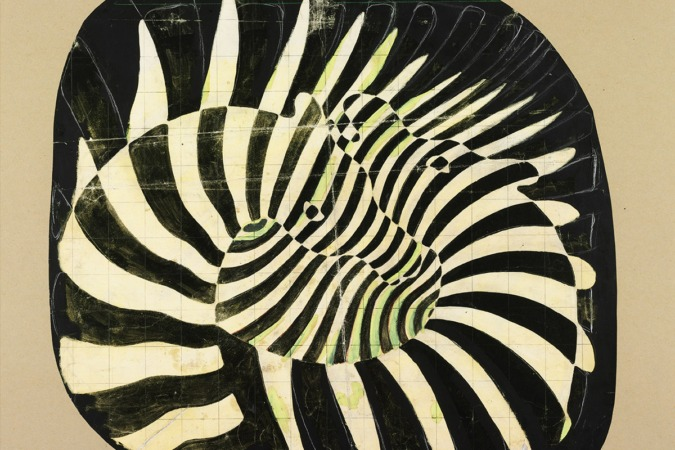 Cebras, obra de Victor Vasarely de 1939, en el Thysen-Bornemisza hasta septiembre.