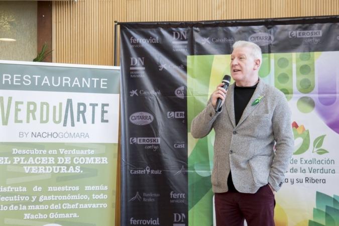 Javier Gómez Vidal, concejal de Turismo y Cultura de Tudela.