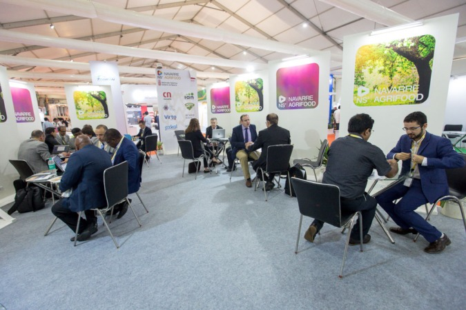 Stand de Navarra en World Food India.