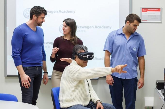TedCas diseña un innovador sistema de formación con realidad virtual para VW Navarra