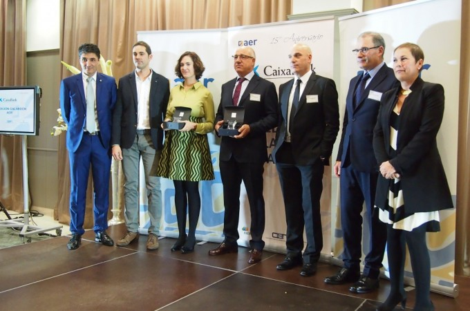 DHG y Hotel Santamaría, reconocidos en la XV edición de los premios AER