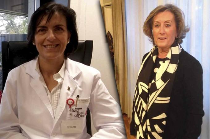 Gloria Mascaray y Patricia Segura, Premios Empresaria y Directiva Navarra 2016